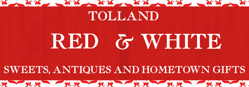 Tolland Red & White Logo